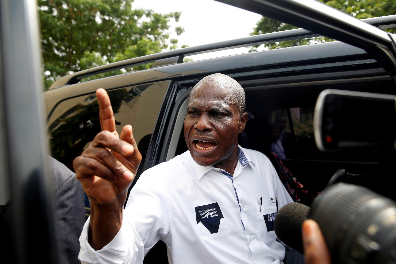 Martin Fayulu, mmoja wa viongozi wa upinzani wakuu DRC.