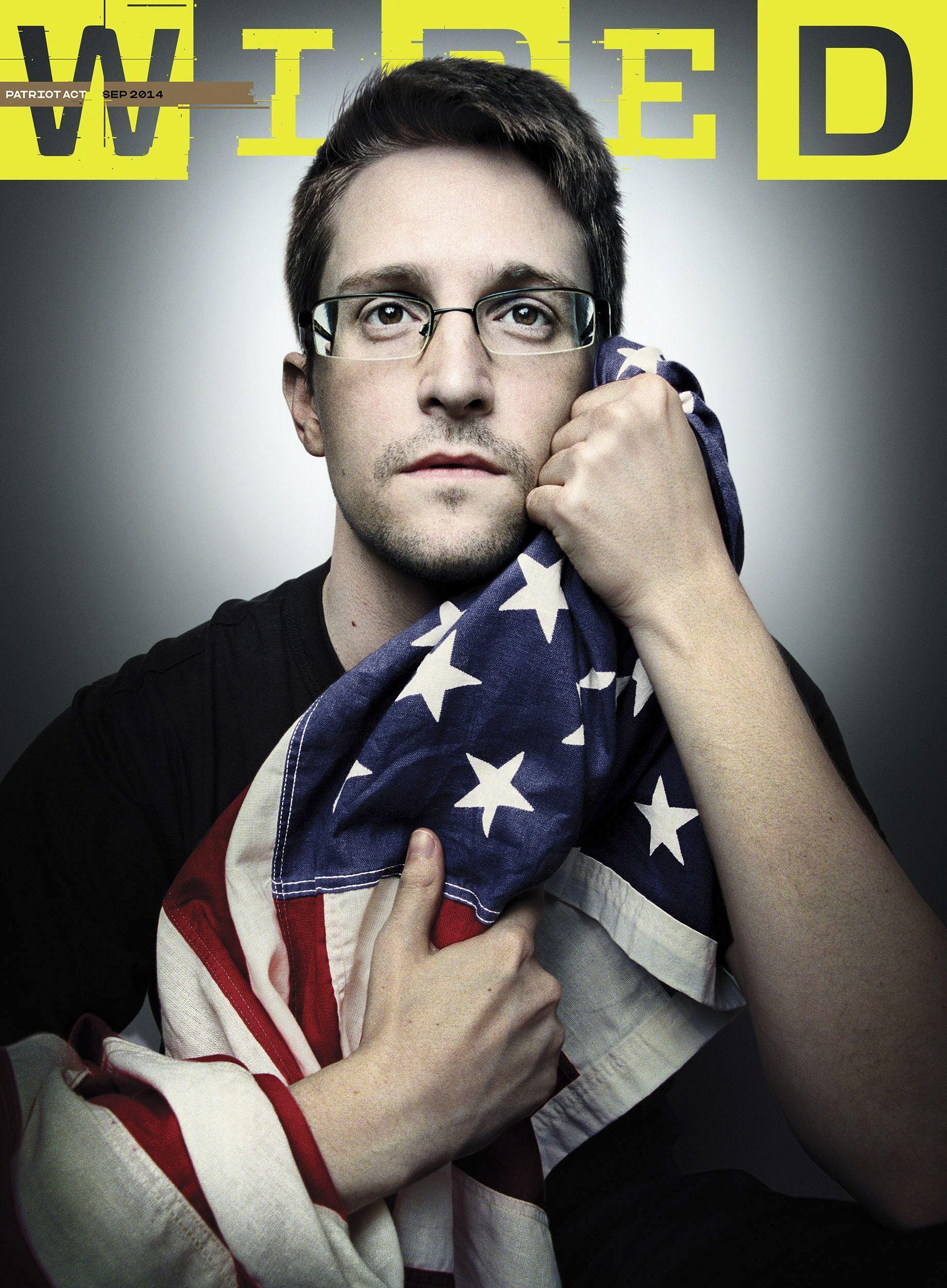 Cựu nhân viên tình báo NSA, Edward Snowden.