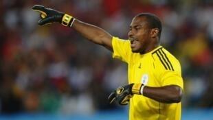 Emmanuel Babayaro, former Nigerian international goalkeeper