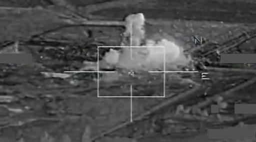 Авиаудар по Ракке 17 ноября
