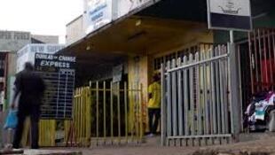 Mojawapo ya maduka ya kubadilisha fedha jijini Bujumbura nchini Burundi