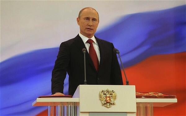 Rais wa Urusi Vladmir Putin
