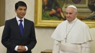 Andry Rajoelina en avril 2013.
