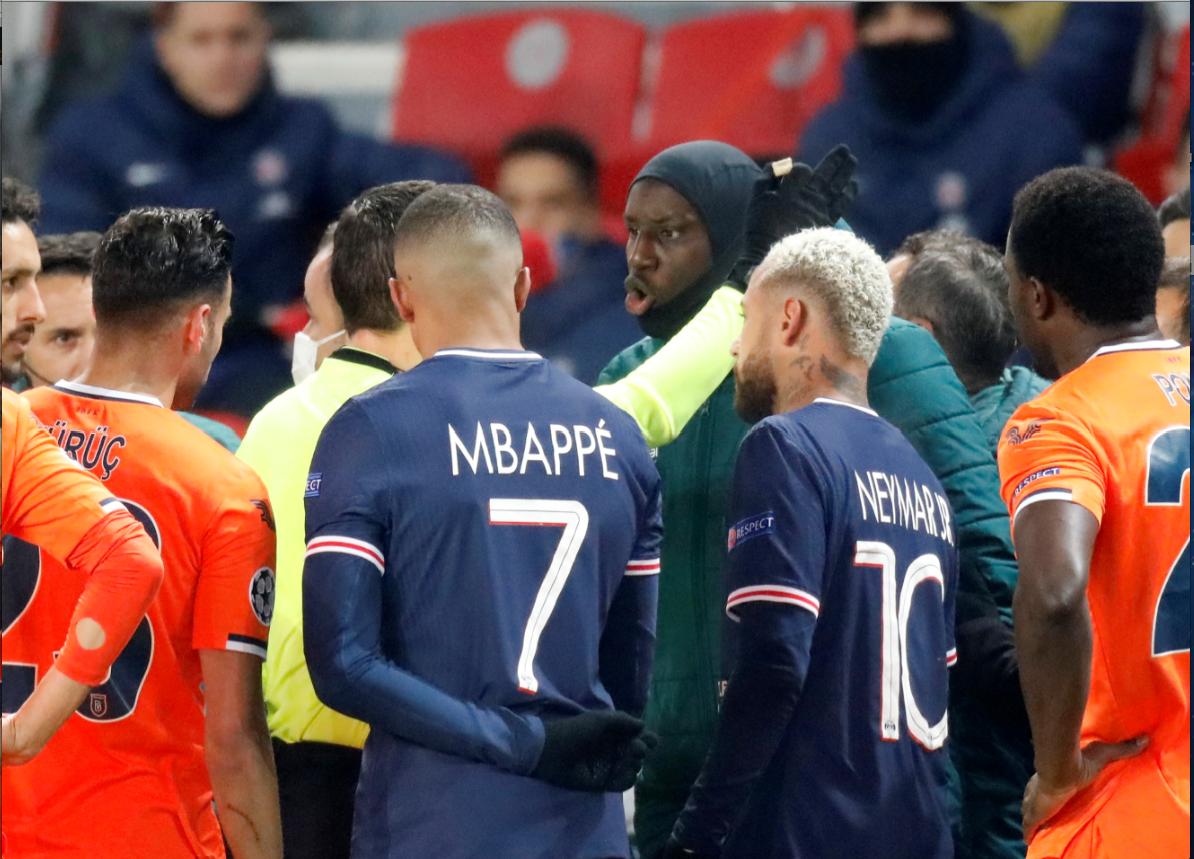 Mechi ya klabu bingwa barani Ulaya  Paris St Germain dhidi ya Istanbul Basaksehir F.K.