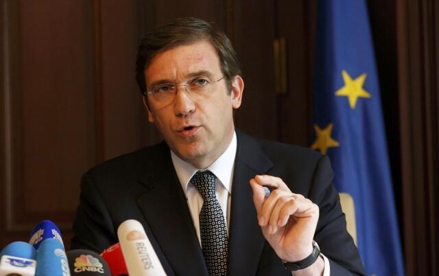 """O primeiro-ministro português, Pedro Passos Coelho, denunciou a """"hipocrisia"""" do FMI  sobre o plano de austeridade imposto ao país."""