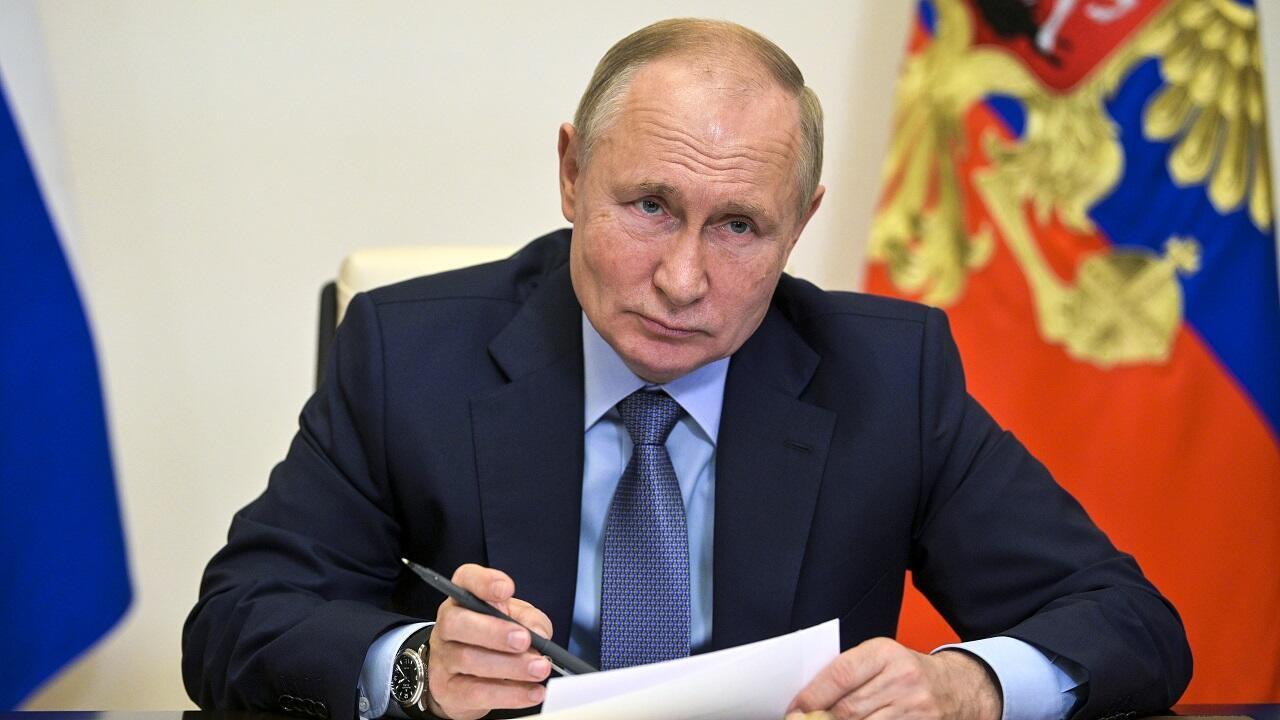 PHOTO Vladimir Poutine - 20 octobre 2021