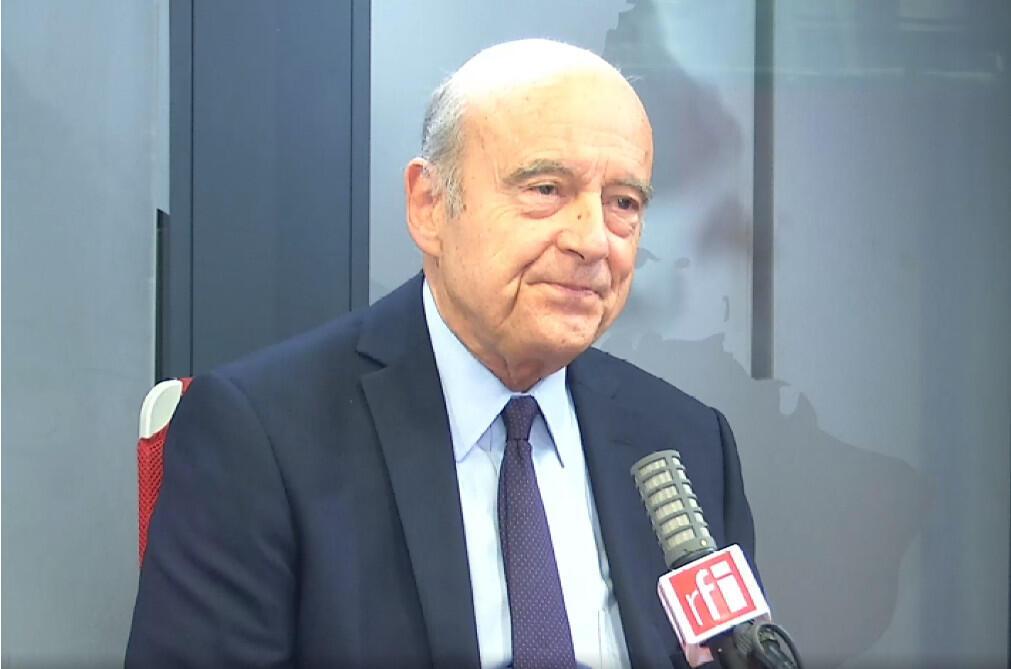 Alain Juppé, ancien Premier ministre sous Jacques Chirac et maire de Bordeaux, auteur de « Mon Chirac »