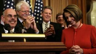 La présidente de la Chambre des représentants, Nancy  Pelosi, le 7 novembre 2009.