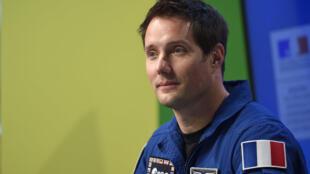 L'astronaute français Thomas Pesquet, à la Cité des sciences à Paris le 7 octobre 2016.