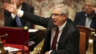 Claude Bartolone, President of the France's National Assembly