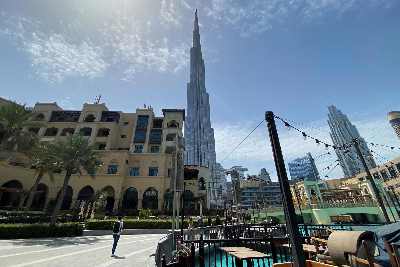 یک مرکز تجاری در دوبی.