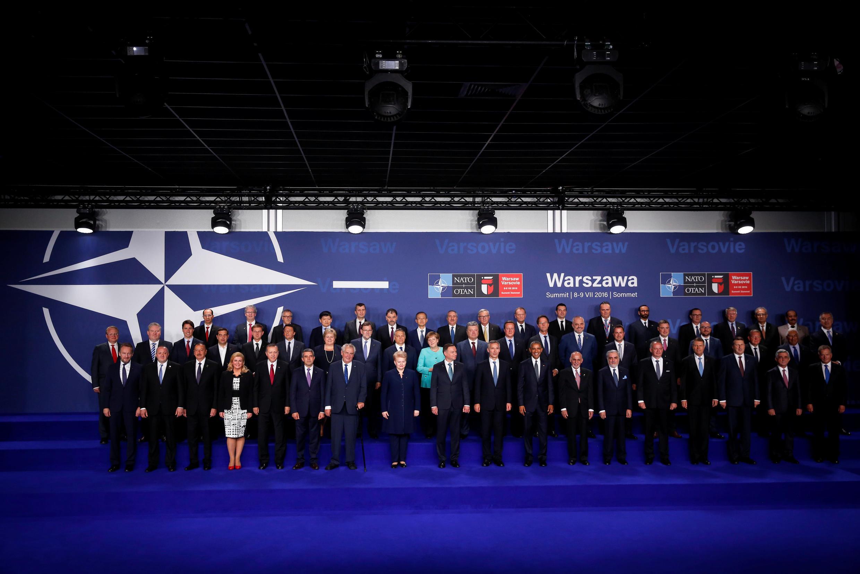 Cimeira da NATO em Varsóvia, Polónia de 8 e 9 de julho de 2016.