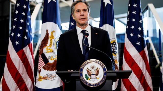 布林肯:特朗普对华政策立场正确,方式未产生结果(photo:RFI)