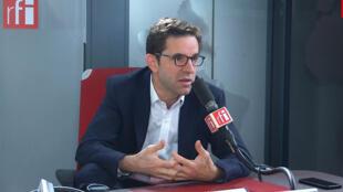 Justin Vaïsse, directeur général du Forum de Paris sur la paix sur RFI, le 11/11/2019.