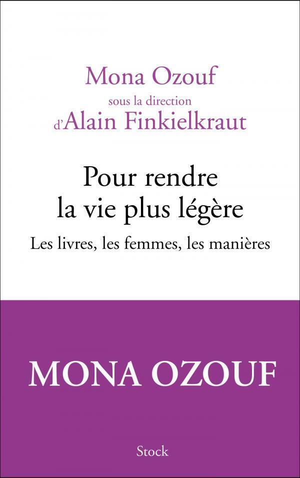 Couverture du recueil de textes de Mona Ozouf