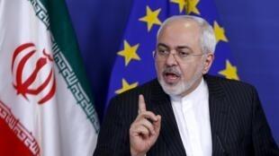 محمدجواد ظریف وزیر امور خارجۀ ایران