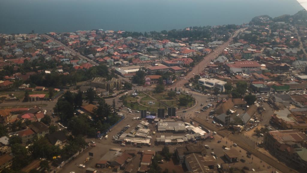 Picha ya Mji wa Goma nchini DRC