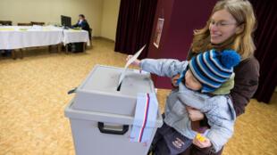 捷克总统大选第二轮投票2018年1月26日布拉格