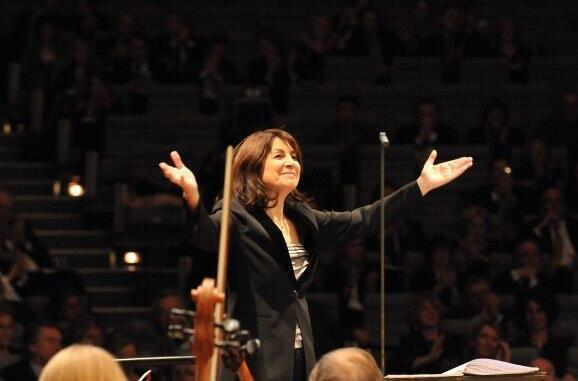 Paris Mozart Orchestra director Claire Gibault.