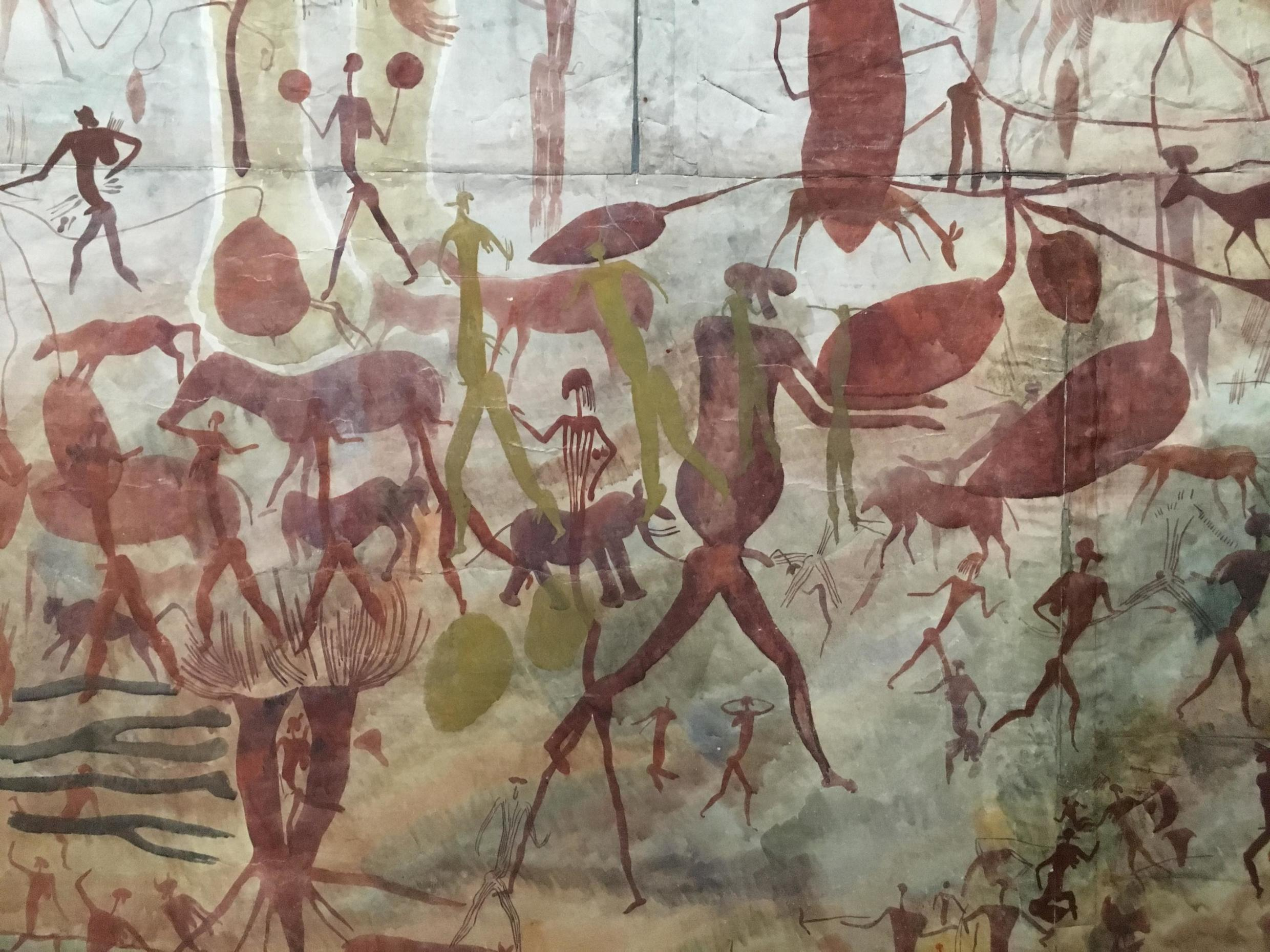 The exhibit at the Pompidou Centre in Paris explores how the discovery of prehistoric art influenced the development of modern thinking and culture.