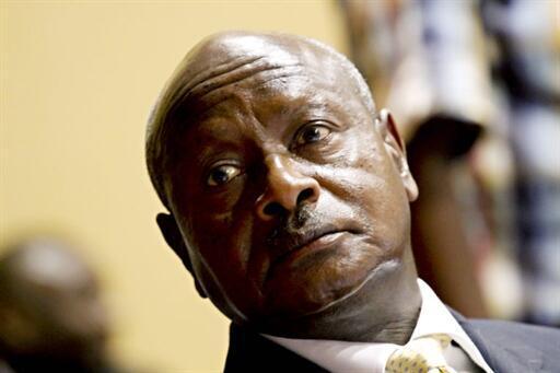Rais wa Uganda, Yoweri Museveni.