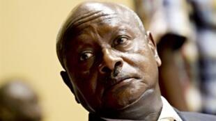 Rais wa Uganda  Yoweri Museveni.
