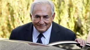 O ex-diretor do FMI Dominique Strauss-Kahn.