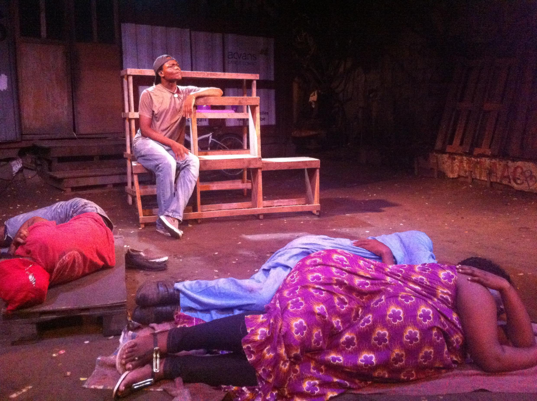 Tamasha la tamthilia mjini Kinshasa nchini Jamuhuri ya Kidemokrasia ya Kongo.