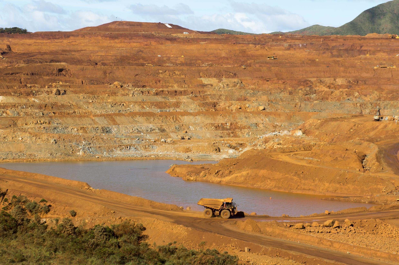 La mine de Nickel de Goro, en Nouvelle Calédonie