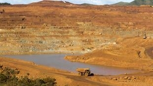 The Goro nickel mine in New Caledonia