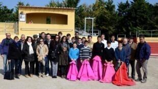 Reinicio de clases en la escuela taurina de Arles