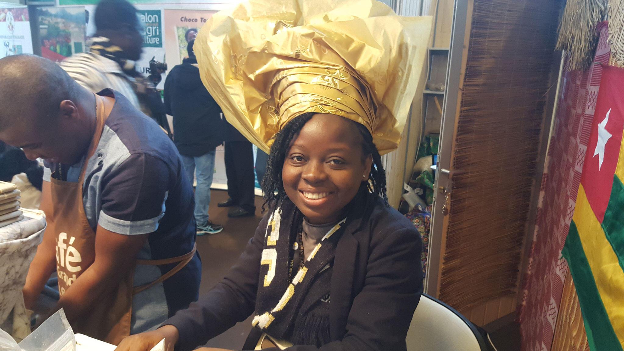 Nathalie Kpanté, responsable de la production de la coopérative Choco Togo.