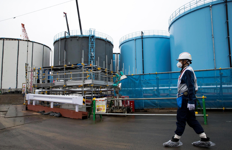 Centro nuclear de Fukushima armazena mais de um milhão de toneladas de água contaminada