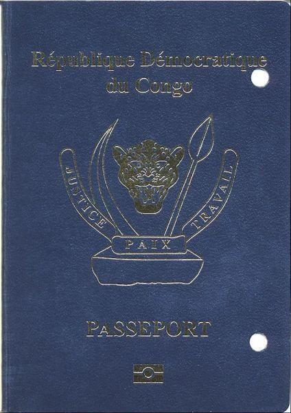 Pasipoti ya DRC.
