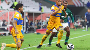 Tigres take on Palmeiras at the Club World Cup in Qatar which is being staged amid strict coronavirus containment measures