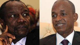 Le dernier tête-à-tête politique entre Alpha Condé (G) et Cellou Dalein Diallo (D) remonte à avril 2012.