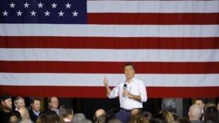 El candidato republicano, Mitt Romney, en Dayton, Ohio, el 3 de marzo de 2012.