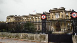 Министерство иностранных дел Франции на набережной Орсэ в Париже.