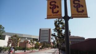Le problème du remboursement des prêts universitaires est constitutif de la société américaine (ici le campus de l'université USC, à Los Angeles)