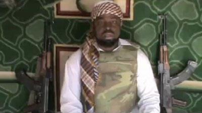 Imam Abubakar Shekau, na kungiyar Jama'atul Ahlil Sunnah Lidda'awati Wal Jihad