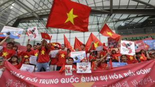Vietnam - Mer de Chine - Manifestation