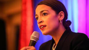 La jeune candidate démocrate Alexandria Ocasio-Cortez est une des nouvelles figures montantes du parti.
