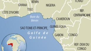 Le golfe de Guinée.