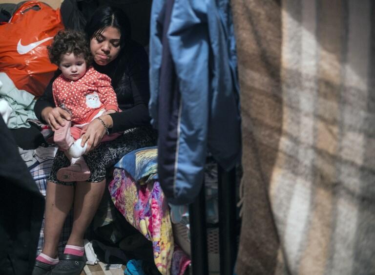 Centro de acolhimento de migrantes venezuelanos em Lima, no Perú. 31 de Agosto de 2018.
