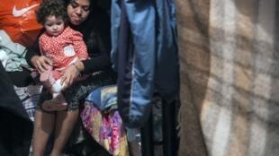Centro de acolhimento de migrantes venezuelanos em Lima, no Peru. 31 de Agosto de 2018.