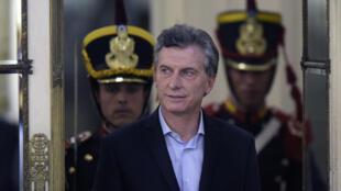 O presidente argentino, Mauricio Macri, está na lista de beneficiários de contas no Panamá, via offshore.