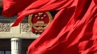 中国人大会堂两会前夕2011年3月2日
