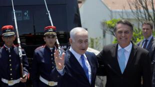 Governo israelense anunicou nesta quinta-feira (28) a visita de Jair Bolsonaro a Israel