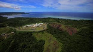 Melekeok, la capitale de l'archipel des Palaos.