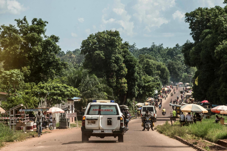 Motar daukar masu fma da Ebola a Congo.